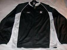 Silver Stars San Antonio WNBA Black Reebok Full Zip Track Jacket Women's XL Tall