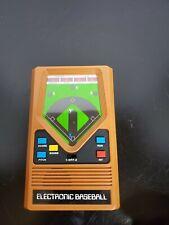 Hand Held Electronic Baseball Game, Tested