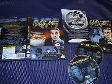 JAMES BOND : GOLDFINGER - ULTIMATE EDITION 2-DISC DVD WITH BOOKLET + LEAFLET
