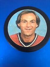 Vintage Guy LaFleur Photo Hockey Puck 1980's