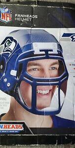 "NEW Fanheads Seattle Seahawks Adjustable Wearable NFL Football Helmet 10"" x 8"""