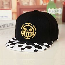 Cosplay Trafalgar Law One Piece Black Baseball Caps Sunhat Anime Hats New