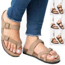 Women Orthopedic Sandals Flip Flops Ladies Open Toe Flat Comfy Summer Shoes Size