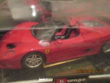 Burago GOLD Collection 1995 Ferrari F50 1/24 Scale Red NOS New in Box ITALY