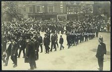 More details for 1908 friendly societies demonstration st werburgh street chester postcard h677
