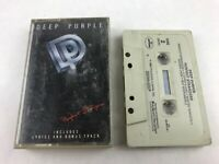 Deep Purple Audio Cassette Tape 1984