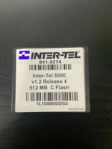 Mitel 841.0274 Mitel 5000 V1.2 Rls 4 512MB Compact Flash Card (Refurbished)