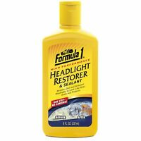 Original Formula 1 Headlight Restorer Sealant Scratch Fade Headlamp Restore Dull