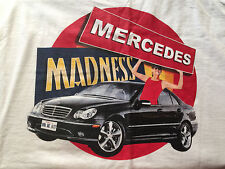 Meredes Madness Valley View Casino San Diego's Favorite Ca Tee T-Shirt Xl