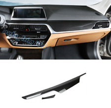 Carbon Fiber Dashboard Center Console Cover Trim For BMW 6 Series GT G32 18-19