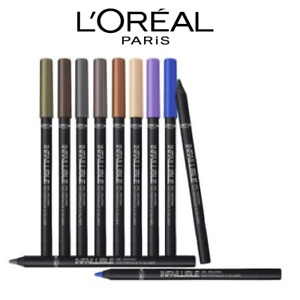 L'Oreal Eyeliner Infallible Gel Crayon Waterproof 24H (Various Shades) 24 hour