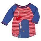 Mud Pie E7 Boathouse Baby Toddler Boy Whale Rash Guard T-Shirt 1052169
