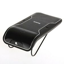 Sun Visor Clip Wireless Bluetooth Handsfree Car Kit Speaker Mobile for 2 Phone