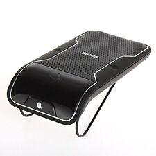 Sun Visor Clip Wireless Bluetooth Handsfree Car Kit Speaker Mobile for 2 Phone