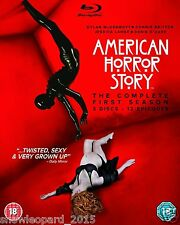 AMERICAN HORROR STORY COMPLETE SERIES 1 Blu Ray All Episode 1st First Season New