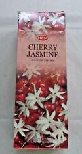 Hem Cherry-Jasmine Incense Bulk 6 x 20 Stick Box, 120 Sticks