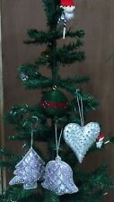 Christmas-Tree-Hanging-Dec-Ornaments-Fabric-Bell-Shoes-Sock- Ball-Baubles -Xmas