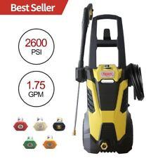 Realm BY02-BIMK 2600PSI 1.75GMP 14.5AMP Electric Pressure Washer