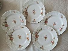 5 assiettes plates Porcelaine de LIMOGES B&Cie  Lot 1/5