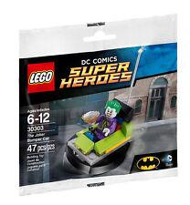 LEGO SUPER HEROES 30303 the Joker BUMPER CAR stanche boxauto Polybag BUSTINA
