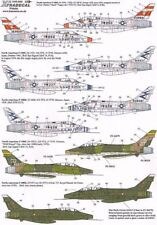 Xtradecal1/48 F-100D/F Super Sabre Two Seaters Part 4 # 48088