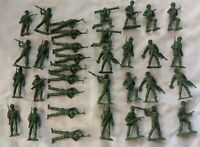 Vintage MPC Plastic 54mm WWII U.S. Army GI Soldiers Lot
