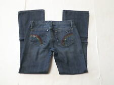 Joes Jeans womens size 27 provocateur rainbow bling boot cut low rise N2