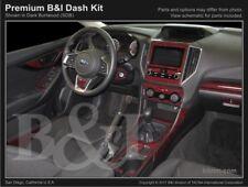 Dash Trim Kit for SUBARU IMPREZA 2017 carbon fiber wood aluminum