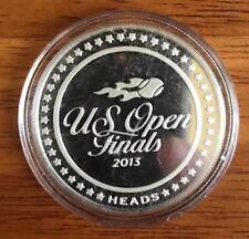 2013 U.S. Open Tennis Finals Silver Flip Coin #93