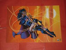 COVERS -SUPERMAN WONDER WOMAN- N°4 -MINI POSTER-22X30-RW lion dc comics NUOVO