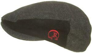 "Robert Graham ""Wadsworth"" Wool Tweed Newsboy Cap 5 Point Ivy Driver Flat Hat"