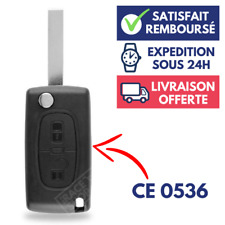 Coque de Plip pour Clé Peugeot 107 207 307 308 407 807 Partner Expert 2 Boutons