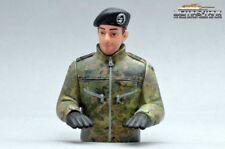 PANZER Bundeswehr COMANDANTE CON BOINA Figura PREPARADO pintado 1:16 ART. fb1003