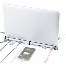 Xystec 5-fach USB-3.0-Lade-Hub & Dockingstation, BC-1.2-Schnell-Ladeprotokoll