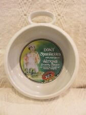 """1992 Watkins Heritage Collection """"Don't Spoil Pickles"""" Bowl W/ Handle"""