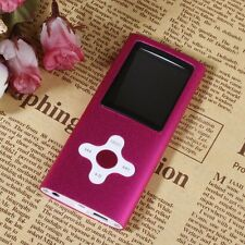 "8GB  MP4 MP3 Player 1.8"" Digital LCD Screen Video FM Radio Games Movie Pink"