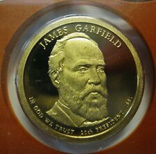 2011-S James Garfield DCAM Proof Presidential Dollar Bargain Priced FREE S&H