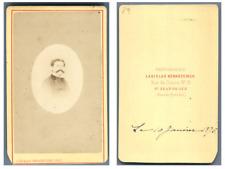 L. Konarzewski, Saint-Jean-de-Luz Portrait de monsieur Henri Dop (Beau-frère d&#