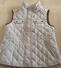 Zara kids/zara Girls & Friends Spanish Couture Beige Gilet