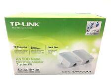 TP-Link AV500 Nano Powerline Starter Kit - White TL-PA4010KIT Internet solution
