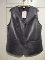 Festliche silberne Damen- Weste Gr. 42  NEU mit Etikett