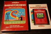 Atari 2600 Barnstorming Complete In Box CIB