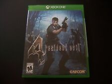 Replacement Case (NO  GAME) RESIDENT EVIL 4 FOUR XBOX ONE 1 XB1 100% ORIGINAL
