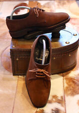 Vintage Cheaney 'Frensham' brown suede derby style shoe - 6.5