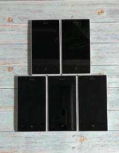Lot (5) Nokia Lumia 720 Unlocked OEM White