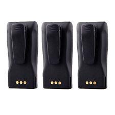 3X Battery for Motorola Radio CP140 CP360 CP380 CP200XLS NNTN4851 / NNTN4851A