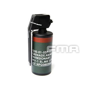 FMA MK13 Short Version Flash Bang Stun Grenade Model Dummy Wargame Airsoft