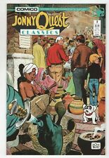 Jonny Quest Comic Book #12 Comico 1987 NEAR MINT NEW UNREAD