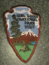 NEW Girl Scout NATIONAL PARK VISIT Patch 100th Embroidered camp nature outdoors