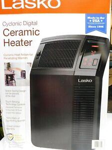 Lasko 1500W Cyclonic Digital Ceramic Heater CC24920 Touch Controls-See Note